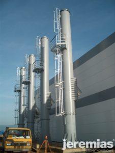 kominy stalowe dla przemysłu