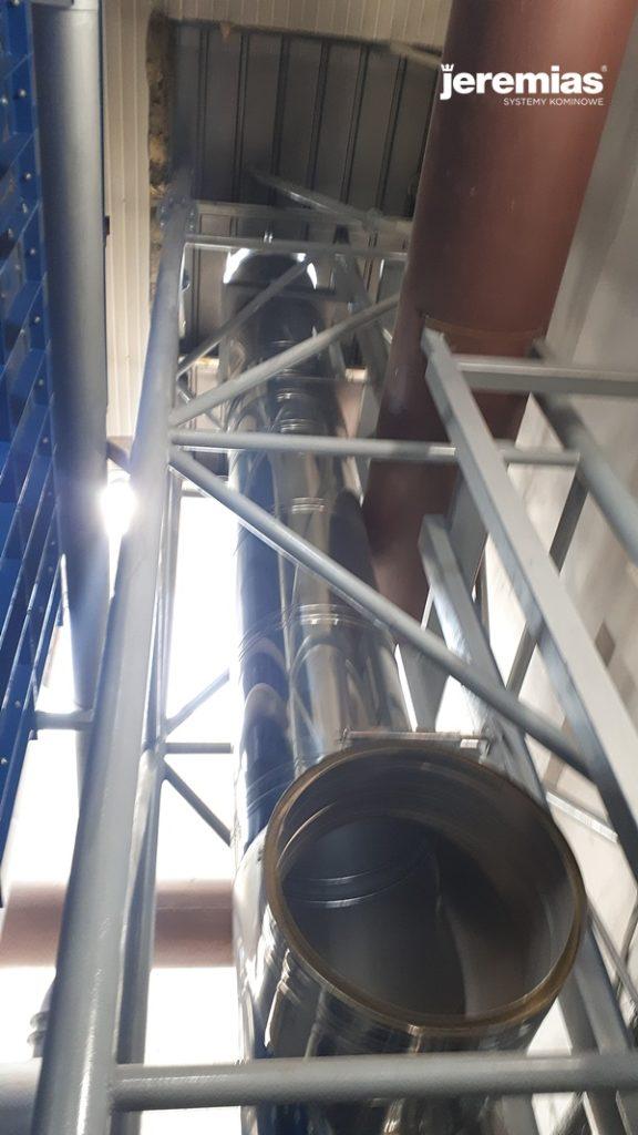 komin dwuścienny przemysłowy