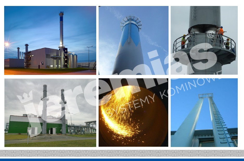komin dla przemysłu