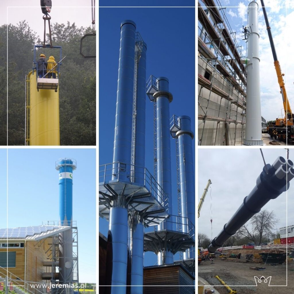 kominowe systemy dla przemysłu